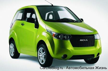 NEW REVA NXR ELECTRIC CAR