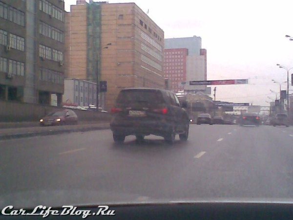 Spy Photos Infinity QX56 in Moscow