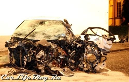 BMW M5 - Реальный краш-тест на 120км/ч