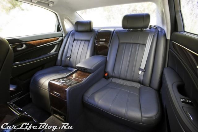Hyundai Equus представлен в России