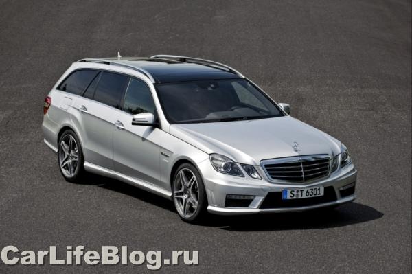 Mercedes E63 AMG - Не для перевозки картошки.