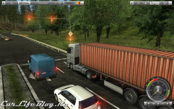 German Truck Simulator -  Немецкие Дальнобойщики