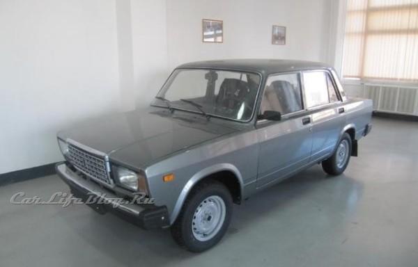 В культуре.  ВАЗ-2107 в СССР, а затем в РФ получил шуточное...
