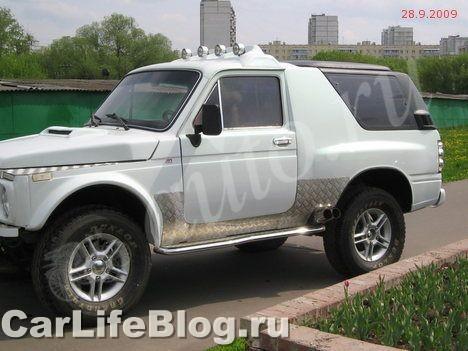 Как можно понять донором послужила ВАЗ 2121 1996 года выпуска - от нее заимствован двигатель мощностью 73 л.c...