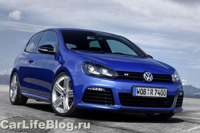 VW Golf R -  Самый мощный Golf !