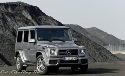 Mercedes показал обновленный G-класс в «заряженной» версии от AMG