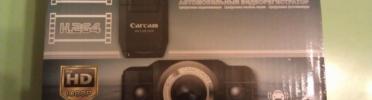 Обзор видеорегистратора Carcam K2000
