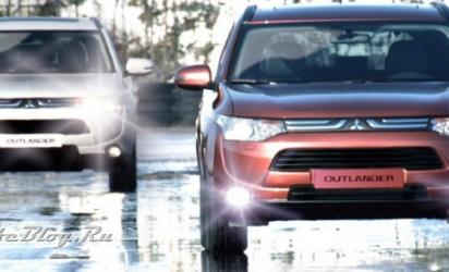 Новый Mitsubishi Outlander.