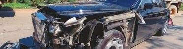 В Китае разбили очередной Rolls Royce Phantom